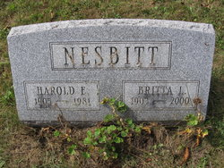 Harold Emerson Nesbitt