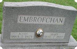 Mary <I>Sedlacek</I> Embrofchan