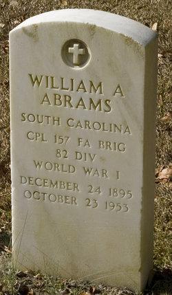 William Alexander Abrams, Jr