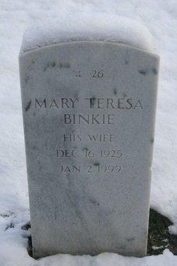 Mary Teresa Binkie