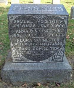Anna Barbara <I>Muller</I> Schneiter
