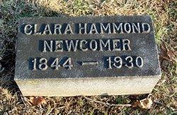 Clara <I>Hammond</I> Newcomer