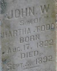 John Walter Todd, Sr