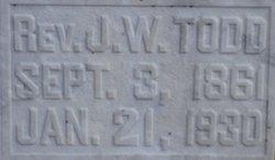 Rev John Walter Todd, Jr