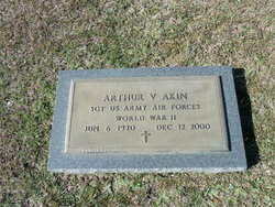 """Arthur V. """"Bubba"""" Akin"""
