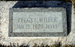 Peggy Louise Miller