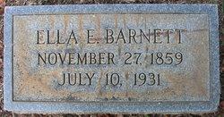 Ella E <I>Bolger</I> Barnett