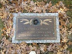 Bertha Plant <I>Grissett</I> High