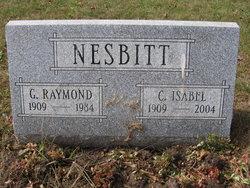 """Clara Isabel """"Isabel"""" <I>Postlewaite</I> Nesbitt"""