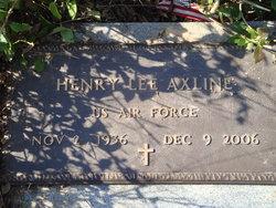 Henry Lee Axline, Sr