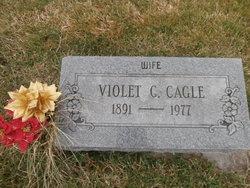 Violet C. <I>Miller</I> Cagle