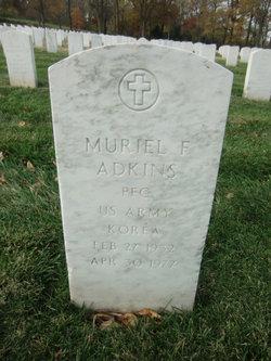 Muriel F Adkins