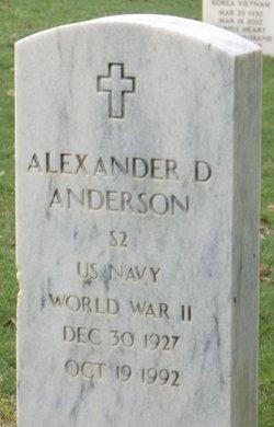 Alexander Dixon Anderson