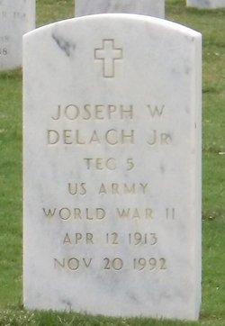 Joseph W Delach, Jr