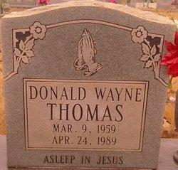 Donald Wayne Thomas