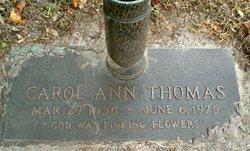 Carol Ann Thomas
