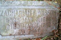 Zachariah F. Wasson