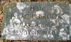 """Isaac E. """"Ebbie"""" Brooks"""