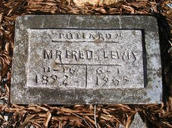 "Fred ""Collard"" Lewis"