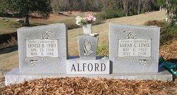 "Ernest Bell ""Pip"" Alford"