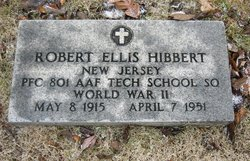 PFC Robert Ellis Hibbert