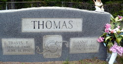 Annie Lee <I>Hubbard</I> Thomas