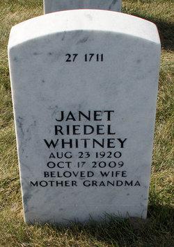 Janet Riedel Whitney