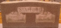 Mary Jane <I>Gattis</I> Stafford