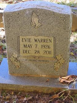 Evie <I>Warren</I> Alexander