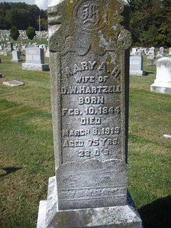 Mary Ann Roth <I>Snyder</I> Hartzell