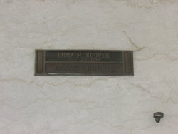 Emma M <I>Starks</I> Hoover