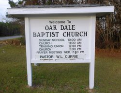 Oak Dale Baptist Church Cemetery