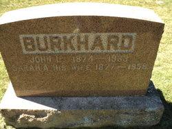 Sarah A <I>Terrillion</I> Burkhard