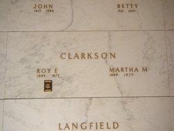Martha M <I>Searcy</I> Clarkson