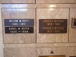 Joseph Clarence Watrous