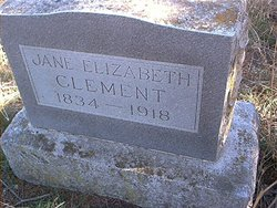 Jane Elizabeth Clement