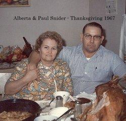 Alberta Nora <I>Waddell</I> Snider