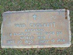 """Benjamin Franklin """"Fred"""" Crockett"""