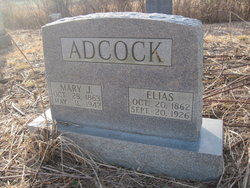 Mary Josephine <I>Moore</I> Adcock