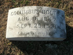 Columbus C Bolton