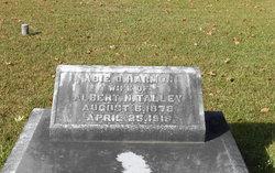 Abie O. <I>Harmon</I> Talley