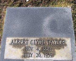 Albert Clyde Taylor