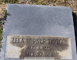 Mamie Ella <I>Turner</I> Taylor