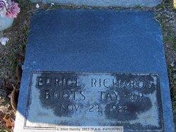 "Eurice Richard ""Boots"" Taylor"