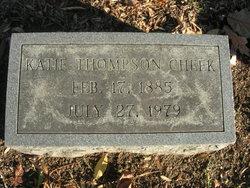 Katie Myrtle <I>Thompson</I> Cheek