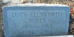 """Lucy Ellsworth """"Annie"""" Cheek"""