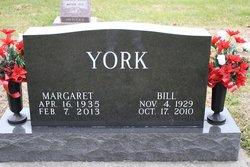 Margaret L <I>McKay</I> York