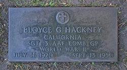 Bloyce George Hackney