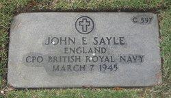John Ernest Sayle