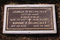 George H Billingsley